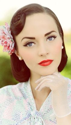 Love the make-up!   On a side note, I wish my eyebrows were shaped like this!