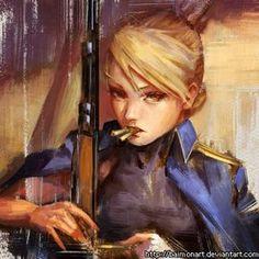Riza Hawkeye - Fullmetal Alchemist Brotherhood