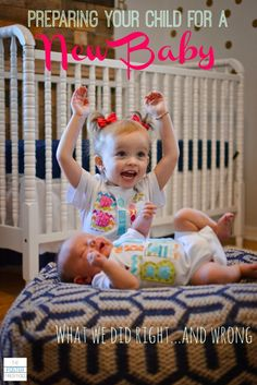 Helpful tips for getting siblings ready for a new baby.