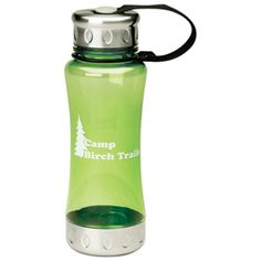 18 oz. Steel-it Water Bottles - includes a one-color custom printed logo. As low as $4.99 each