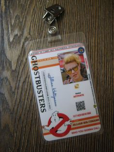 Hey, I found this really awesome Etsy listing at https://www.etsy.com/listing/449282388/ghostbusters-jillian-holtzmann-id-badge