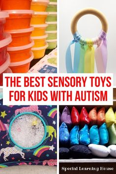 Sensory Toys for Autism at Home // All the sensory toys kids with autism need to thrive at home