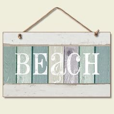 Love this sign with the colors and all. Makes me want to go to the beach...