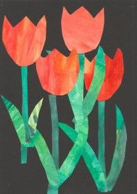 Inga Collage Kunst, Collage Art, Projects For Kids, Crafts For Kids, Animal Crafts, Art School, Collagen, Cards, Spring