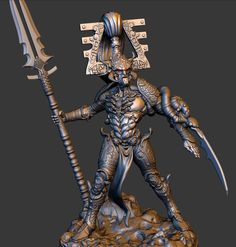 Eldar Avatar by Justice Joseph, via Behance