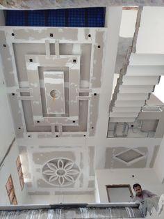 Modleing Simple False Ceiling Design, Plaster Ceiling Design, House Ceiling Design, Ceiling Design Living Room, False Ceiling Living Room, Bedroom False Ceiling Design, Ceiling Light Design, Home Ceiling, Modern Ceiling