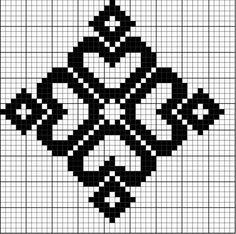 Best 12 Simple Redwork Cross stitch pattern for Borders, Bookmark or as Motifs – SkillOfKing. Filet Crochet, Crochet Chart, Crochet Granny, Knitting Charts, Knitting Stitches, Sock Knitting, Knitting Machine, Vintage Knitting, Free Knitting