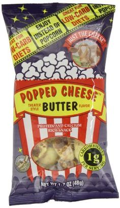 Just the Cheese Popped Cheese Butter Flavor 17Ounce Bags Pack of 6 * See this great product. (Note:Amazon affiliate link)