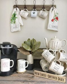 80 Best Coffee Bar Rae Dunn Obsession Images Dessert Table