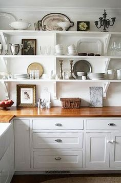 Open shelving kitchen - to do!