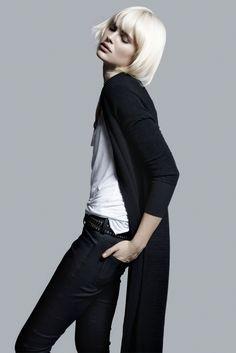 4b1f0840ebef7 better in leather · Tomboy ChicGirl Short HairModern FashionHigh ...