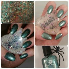 Cinderhellie Nails: Paint the Rainbow Box October: Lilypad Lacquer - We're All Mad Here