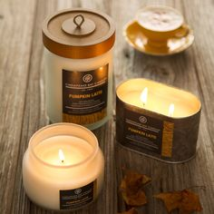 Double Wick Tin Candle