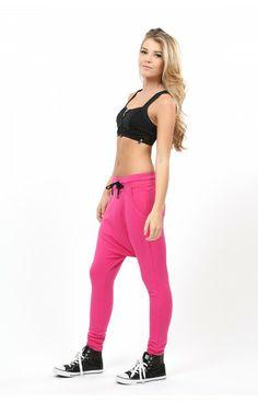 Women's Drop Crotch Pants - Bombshell