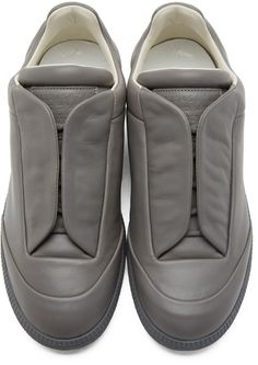 Maison Margiela Grey Future Low-Top Sneakers