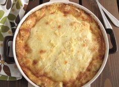 Σουφλέ με 4 τυριά και γιαούρτι Cookbook Recipes, Cooking Recipes, Party Finger Foods, Diy Food, Nutella, Macaroni And Cheese, Oven, Rolls, Food And Drink