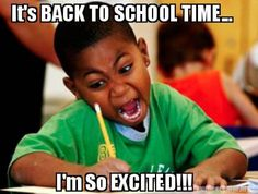 The Internet is expressing its feelings about back-to-school season the best way it knows how -- memes. Photo: Meme Generator, Tumblr,