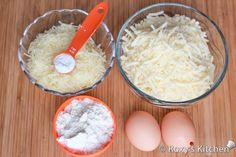 Mini Cheese Balls - Ingredients