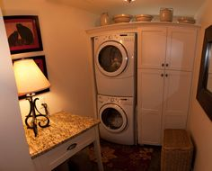 Great Laundry Room With Yellow River Granite  Crowe Custom Countertops