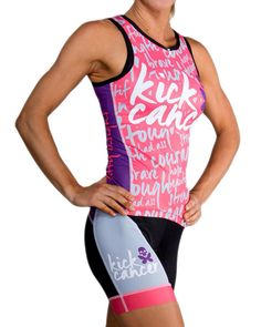 Betty design - kick cancer tri kit