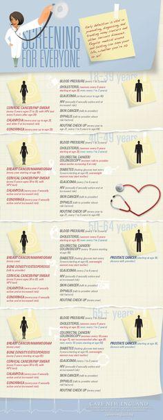 Health Screenings                                                                                                                                                                                 More