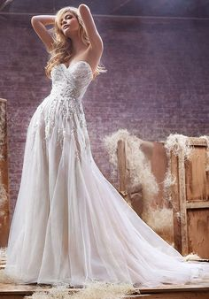 Hayley Paige 6412 - Star Wedding Dress - The Knot