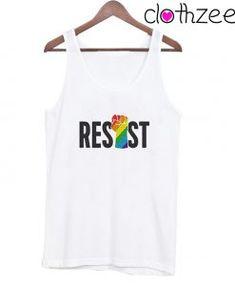 LGBTQ Resist Tank Top