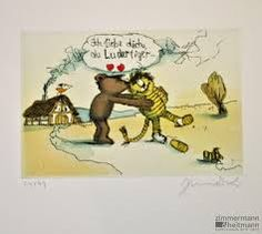 Bildergebnis für herr janosch Illustration, Education, Comics, Children, Pattern, Art Of Living, Meaning Of Life, Drawing S, Love