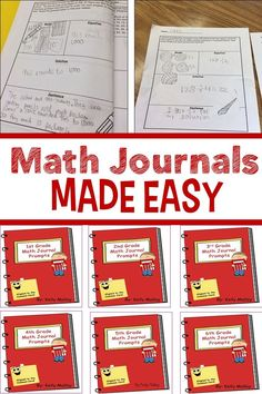 Math Journal Prompts for - grade Have you wanted to try math journals in your classroom? Do you need math journal ideas? Then you will love these math journal prompts for - grade! Math Journal Prompts, Math Journals, Journal Ideas, Writing Prompts, Maths 3e, Eureka Math, Math Questions, Math Intervention, Simple Math