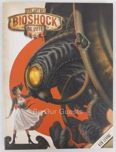 Loot Crate Exclusive The Art Of Bioshock Infinite Book New Lootcrate