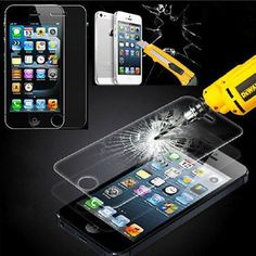 Anti-Explosion Real Tempered Glass Film Screen Protector For iPhone 4 4S 5S 6 6p #Unbranded