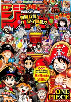 One Piece 835 Vostfr : piece, vostfr, Ideas, Manga, Covers,, Anime, Weekly, Shonen