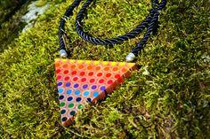 Triangle d'arc en ciel de crayons de couleur par carbickova sur Etsy