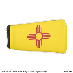 New Mexico Flag, Cozy Cover, Usa Holidays, Golf Head Covers, National Symbols, Golf Putters, Golf Towels, New Mexican