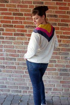 crearetro-retropulli-21 Raglan, 21st, Contrast Color, Sewing Patterns