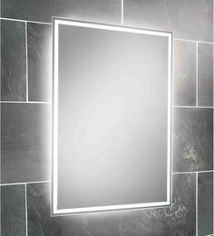 Heated Bathroom Mirror With Light Mirrors Pinterest And Lights