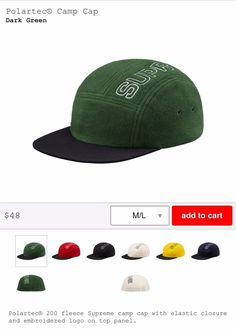cb078d7631c supreme 5 panel hat Fleece  fashion  clothing  shoes  accessories   mensaccessories