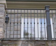 Exterior Iron Railings | Wrought Iron Railings Toronto | European Wrought Iron Works