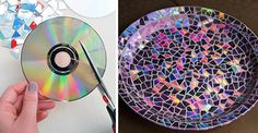 The most brilliant DIYideas how to recycle all of your old CDs. I LOVE number 15!