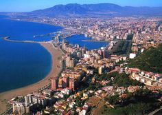 Malaga, Spain   On The Beautiful Costa de Sol   Birthplace and Home of   Antonio Banderas