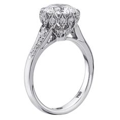 Christopher Designs 624-RD Engagement Ring