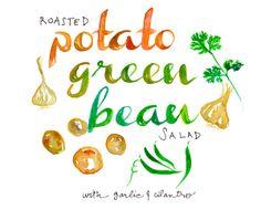 Anthology Magazine   Recipes   Roasted Potato Green Bean Salad