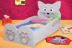 Pat Tineret Diverse Animale - Plastiko Kid Beds, Sofa Bed, Your Child, Toy Chest, Storage Chest, Cushions, Kitty, Children, Shopping
