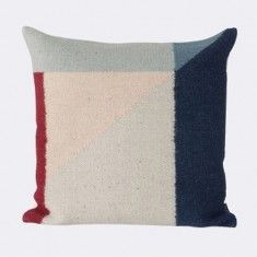 ferm LIVING Kelim Pillow - Rose Triangle