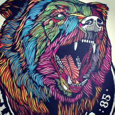 'BEAR NO.2' SERIES - Luke Dixon Artist