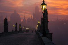 프라하의 아침 Prague morning