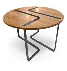 Table Sangle ronde design Jocelyn Deris pour LaCorbeille.fr