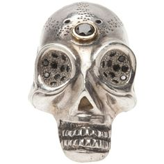 BLACK DAKINI Skull ring