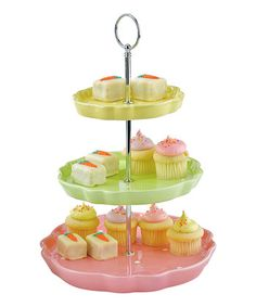 pastel desert server...I want this quite seriously.