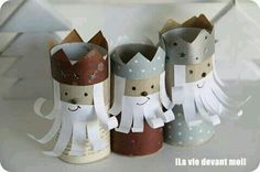 Tři králové Christmas Crafts For Kids, Christmas Baby, Christmas And New Year, Christmas Themes, Fall Crafts, Holiday Crafts, Diy And Crafts, Arts And Crafts, Christmas Decorations